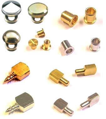 Brass Mirror Caps