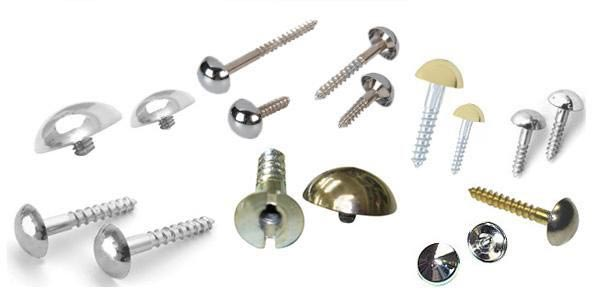 Brass Screw Caps