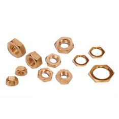 Brass Hex Nuts