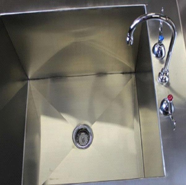 Stainless Steel Laboratory Sink Table