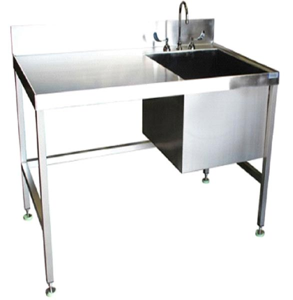 Stainless Steel Laboratory Sink Table Exporter Saudi Arabia