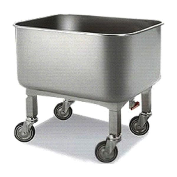 Stainless Steel Bowl Trolley