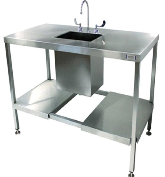 Stainless Steel Sink Lab Split Undershelf