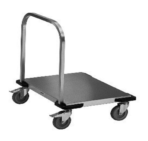 Stainless Steel Trolley with Handle