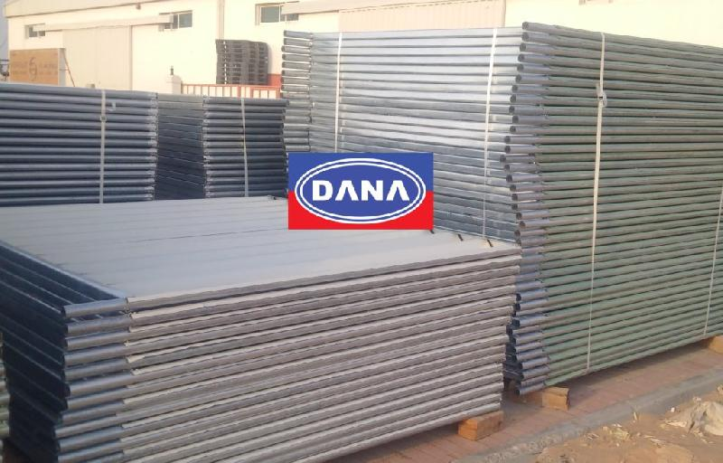 Discontinuous Corrugated Fencings