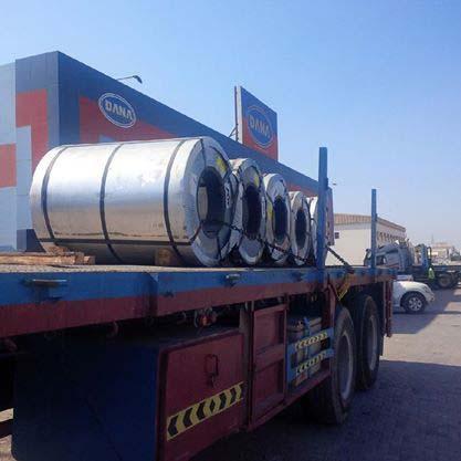 Galvanized Coils Sheets Slits - UAE Supplier - DANA