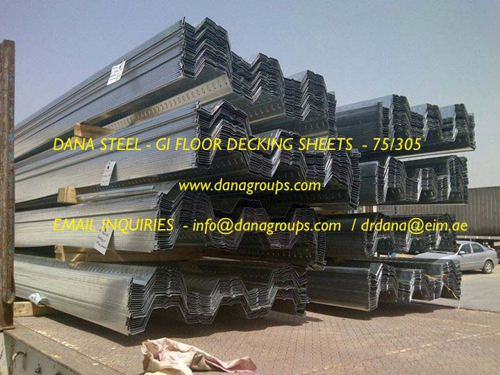 GI Steel Floor Decking System (DSD 75/305