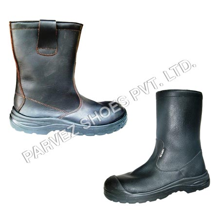 PSL Leather Rigger Boots