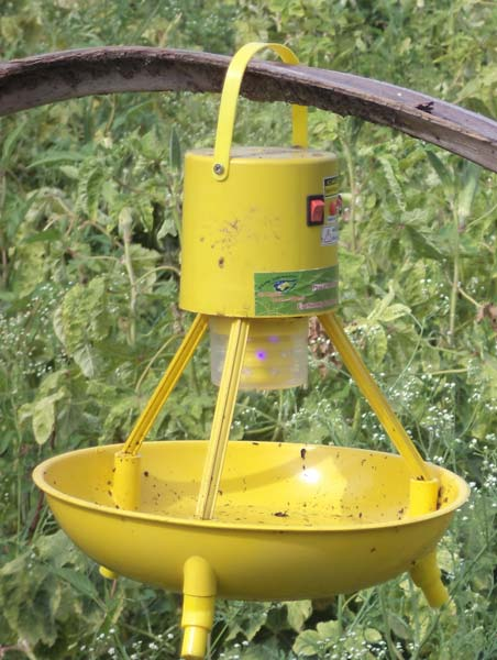 Hand Operated Insect Trap