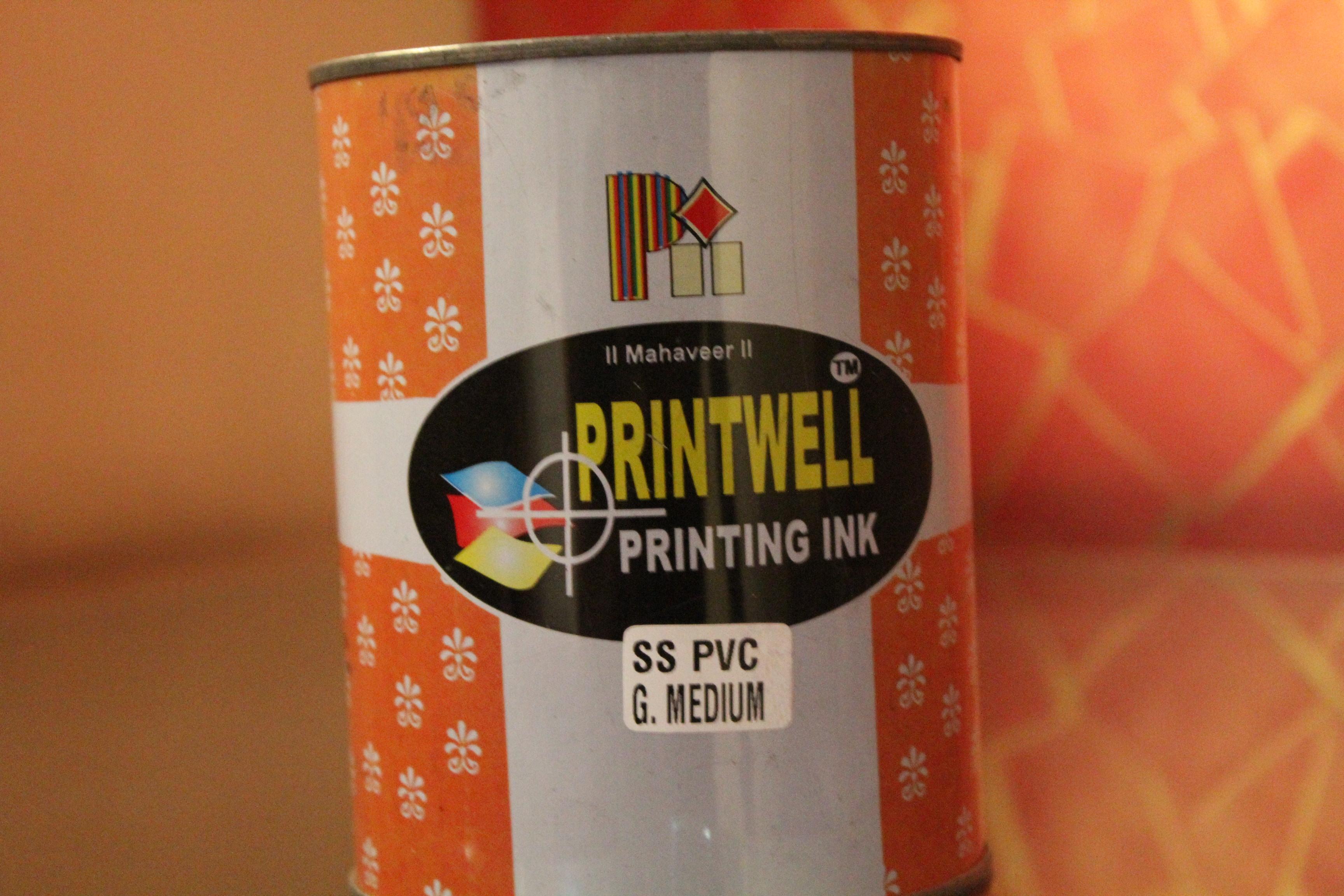 PVC Gold Medium Screen Printing Ink