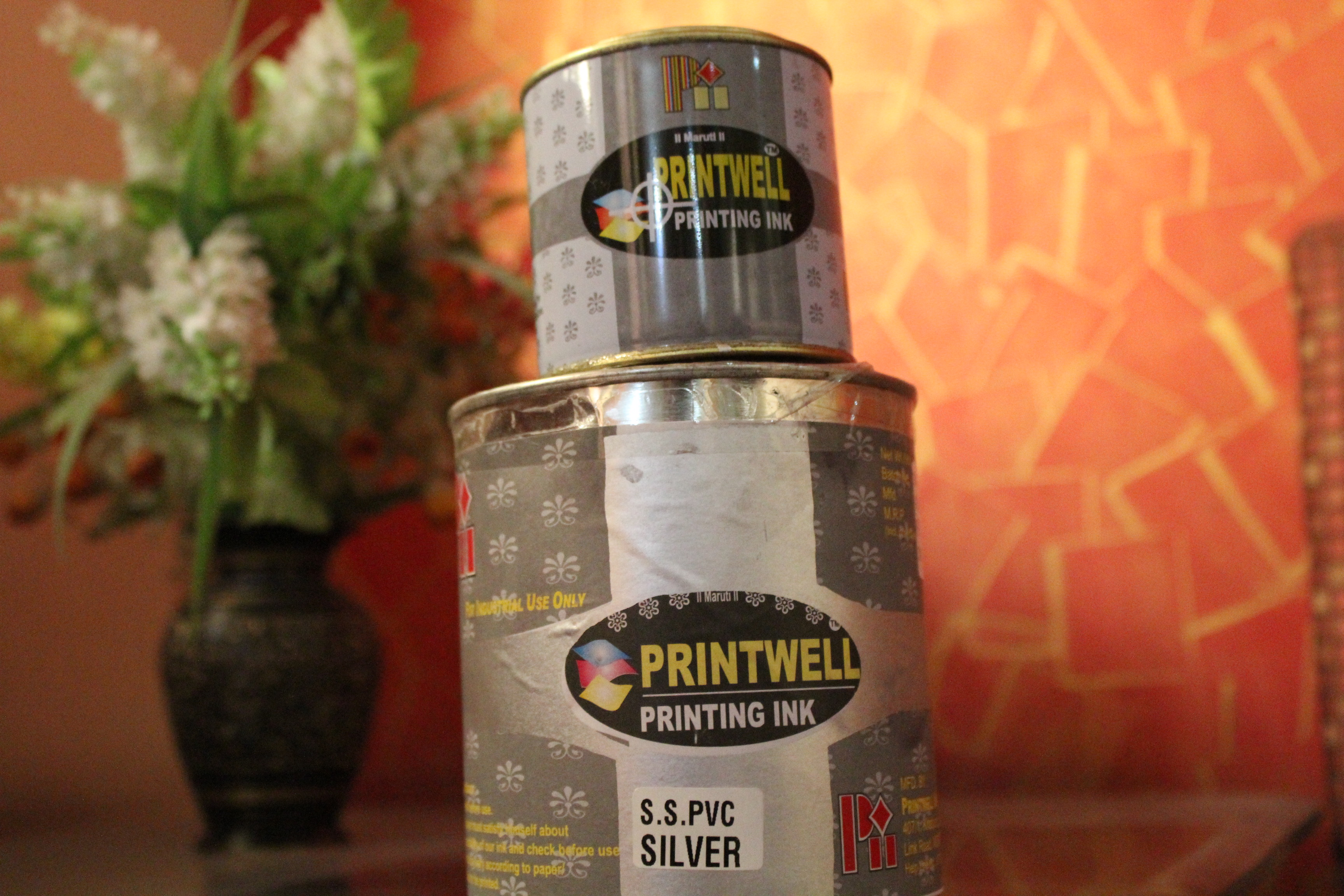 PVC Silver Screen Printing Ink