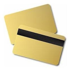 Plastic Gold Cards