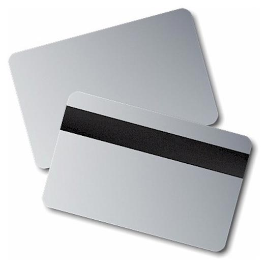 Plastic Silver Cards