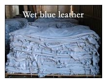 Wet Blue Leather