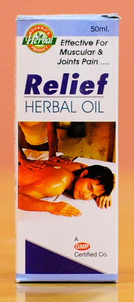 Pain Relief Herbal Oil