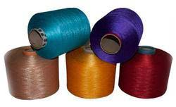 100% Polyester Spun Dyed Yarns