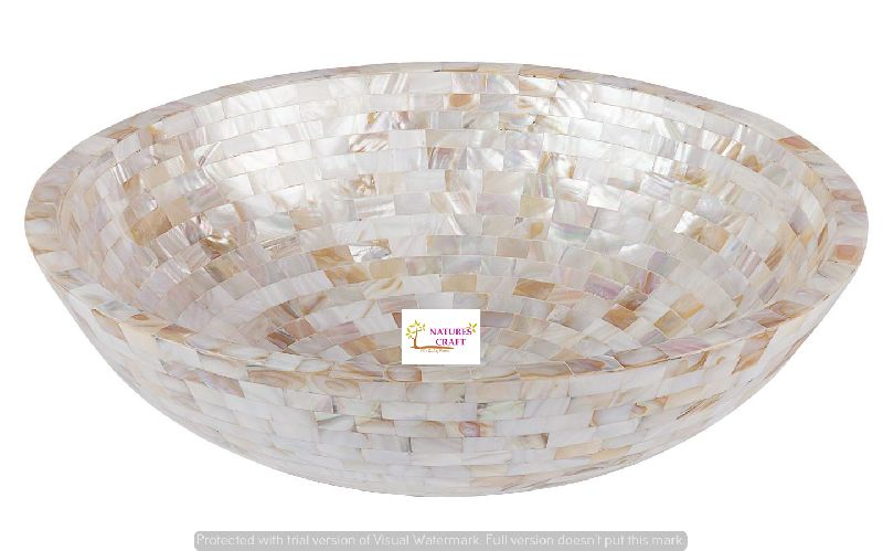 Luxurious Mother of Pearl Wash Basins