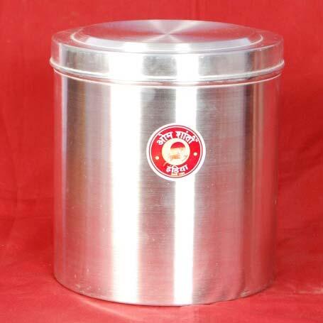 Aluminium Round Container