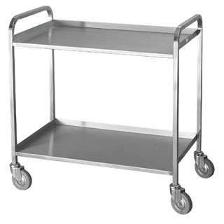 Stainless Steel Dressing Trolley 01