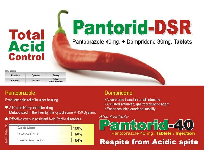 Pantorid-DSR Tablets