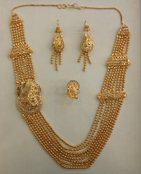 Golden Necklace Sets