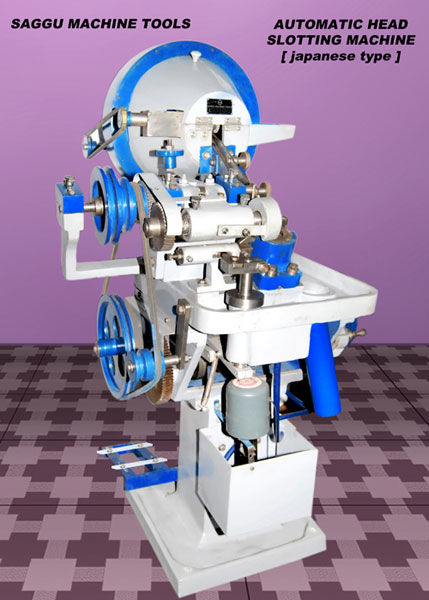 Automatic Head Slotting Machine (Japanese Type)