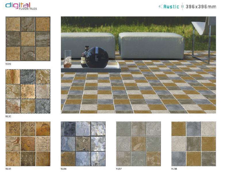 396x396 mm Digital Floor Tiles