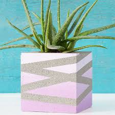 Concrete Flower Block 04