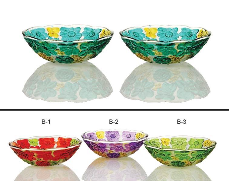2 Piece Glass Bowl Set
