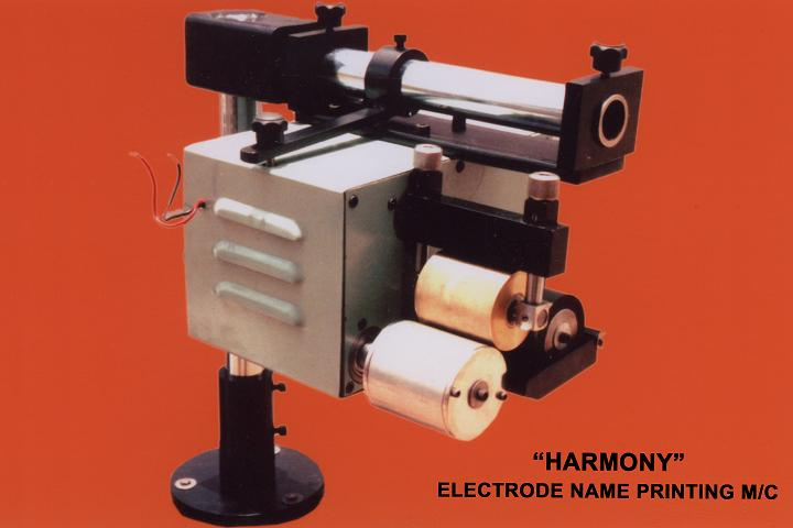 Electrodes Name Printing Machine