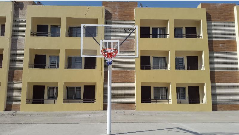 Basketball Pole 01