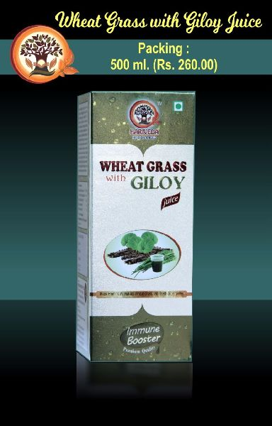 Wheat Grass with Giloy Juice