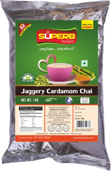 Superb Instant Jaggery Cardamom Tea 02