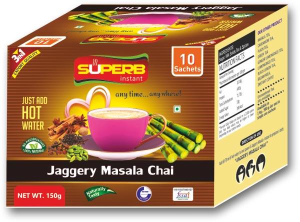Superb Instant Jaggery Masala Tea 01