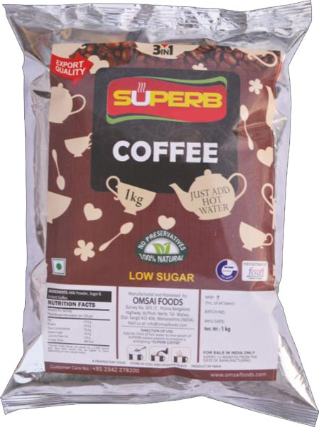Superb Low Sugar Coffee
