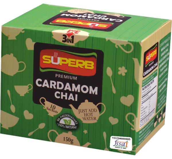 Superb Premium Cardamom Tea