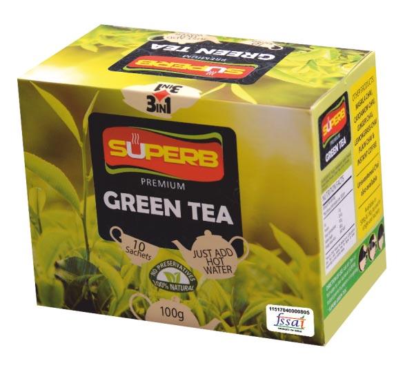 Superb Premium Green Tea