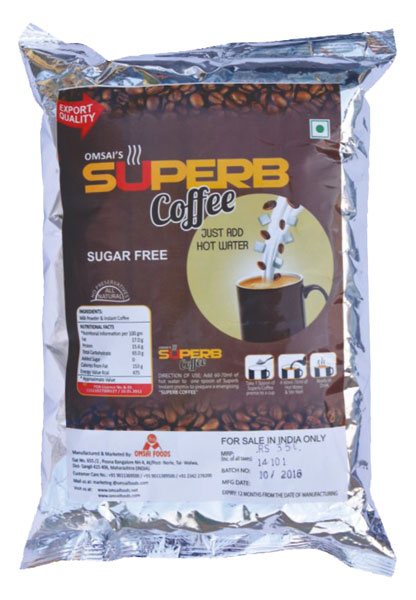 Superb Sugar Free Coffee
