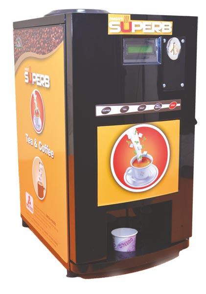 Superb Tea & Coffee Vending Machine 02