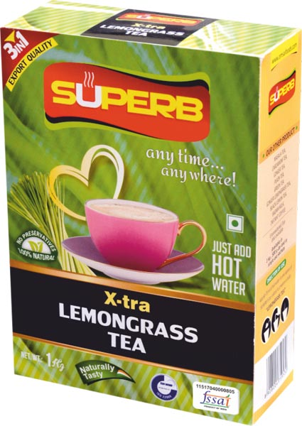 Superb X-Tra Lemongrass Tea