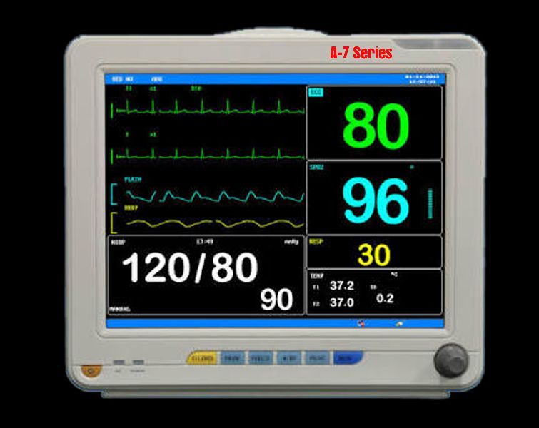 GEM A 7 Series Multi Parameter Patient Monitor
