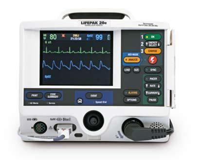 Physio Control Lifepak 20 Defibrilator