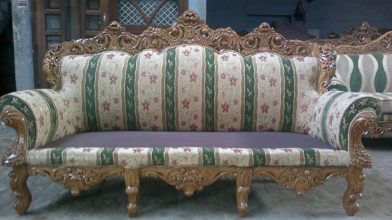 Wooden Sofa 01