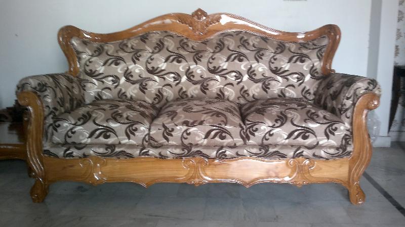 Wooden Sofa 02