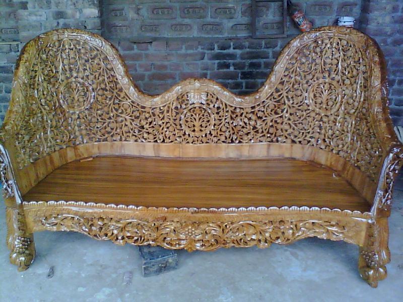 Wooden Sofa 03