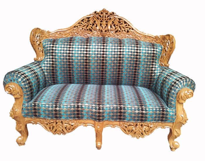 Wooden Sofa 07