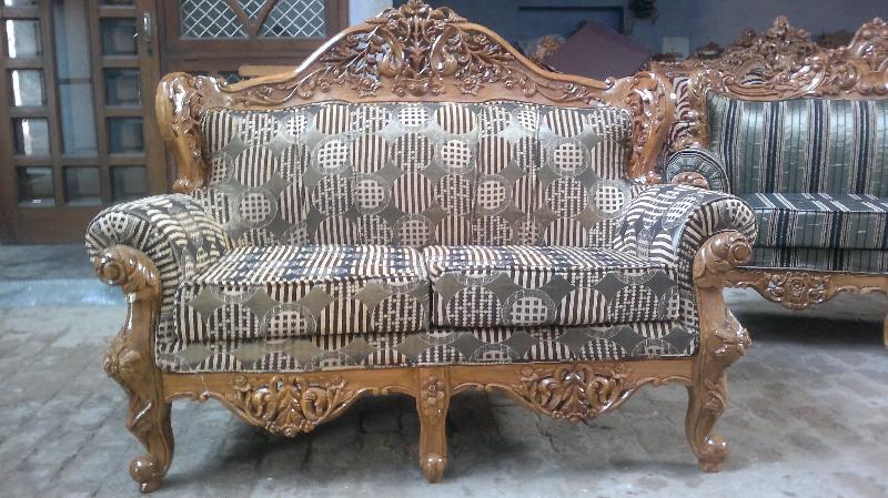 Wooden Sofa 09