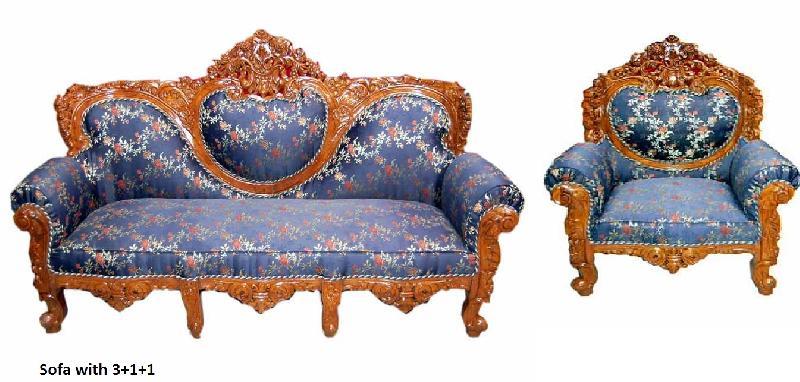 Wooden Sofa 17