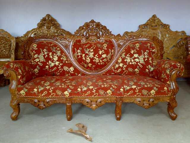 Wooden Sofa 22