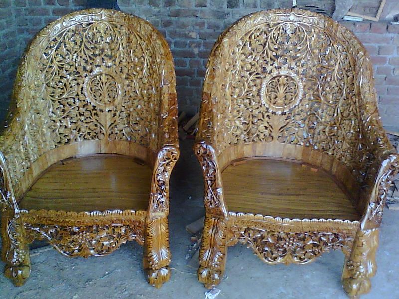 Wooden Sofa 23